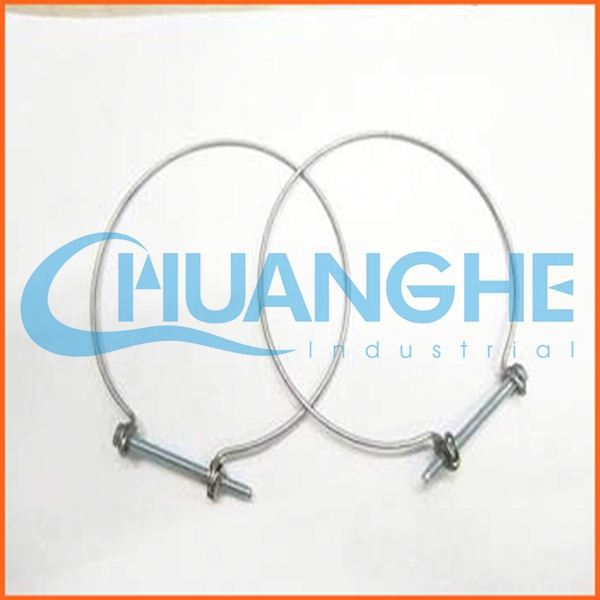 china supplier extra wide hose clamps