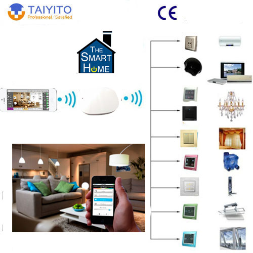Tyt Wifi Switch Smart Home With Zigbee Light Control Ceiling Fan Remote Rf