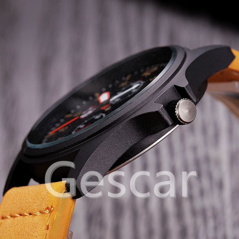XINEW-2228c hot seller for man high quality leather belt watch sport casual watch wholesale wrap quartz wristwatch