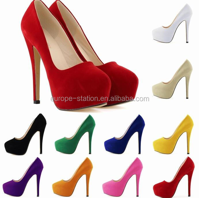 Wedding shoes night club sexy high heels 14cm all colors stock UK SIZE 2-9