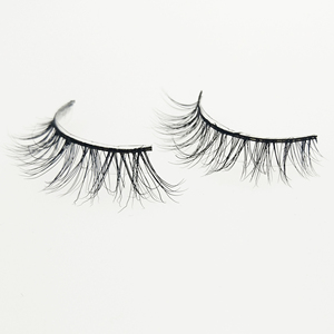Premium 3D Mink Lash Private Label Strip False Eyelashes Wholesale Real Mink Fur Handmade eye lash A04