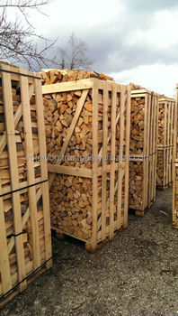 Kd Firewood In Wooden Box Pallet 100 100 180 Buy Kiln Dry High