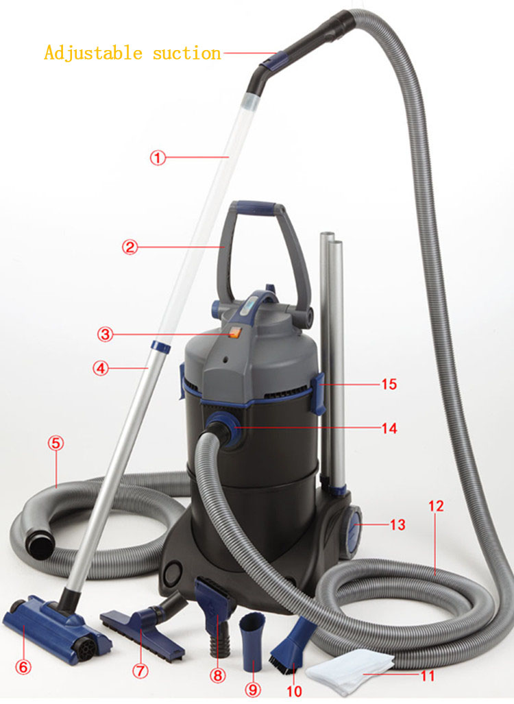 Swimming Pool Portable Dry Cleaning Machine And Pool Vacuum Cleaner Robot