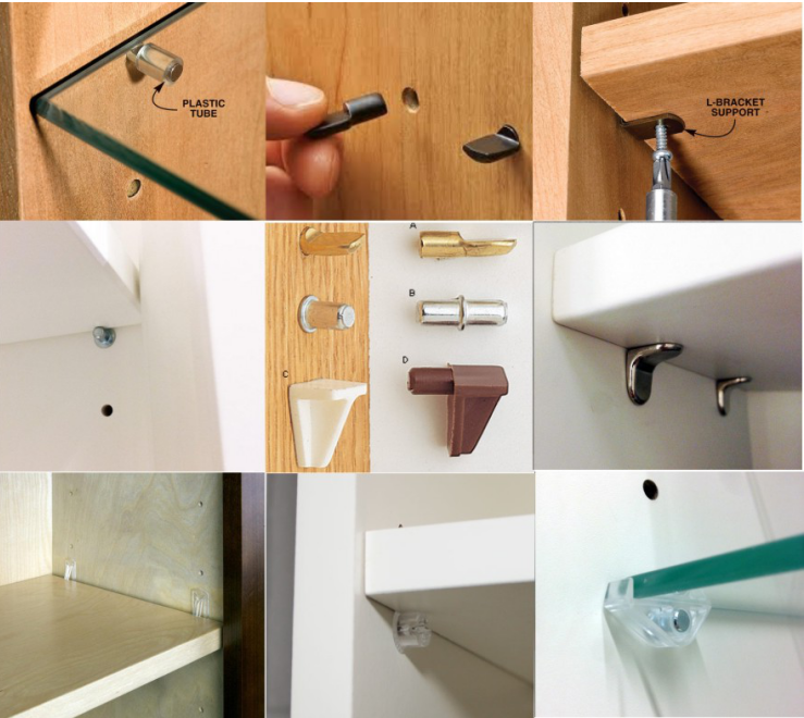 Wholesale Custom Shelf Support Connecting Fittings