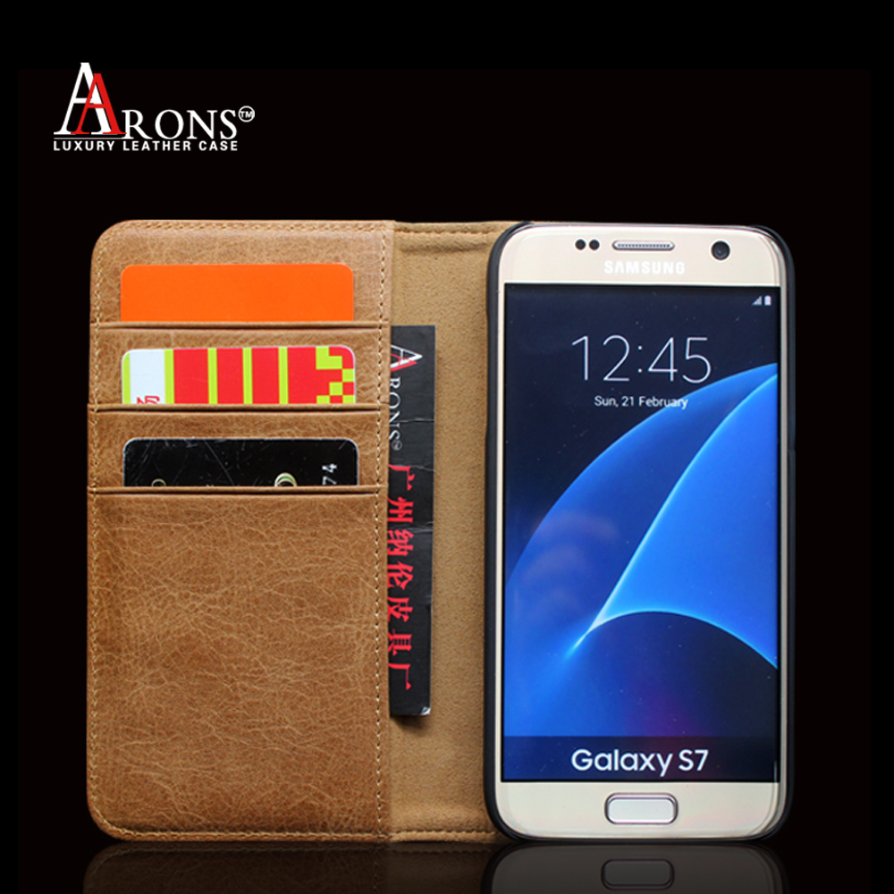 competitive price 8e24a 3babb Amazon Top Seller Luxury Genuine Leather Phone Case Wallet With Card Slot  Emf Rfid Blocking Phone Case For Samsung S7 Case - Buy Rfid Phone Case,Emf  ...