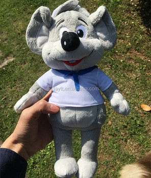 "Custom material 35cm/14"" soft mascot toys plush mouse stuffed toys with CE/ASTM Certification"
