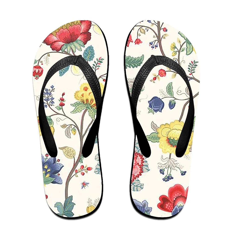 81f47d2fb Get Quotations · Vintage Flowers Men s And Women s Sandals Flip Flops