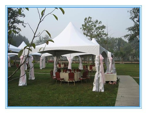 20x20 vinyl garden gazebo tent for party