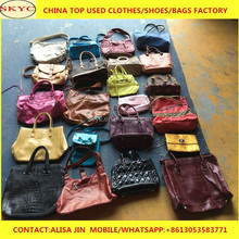 wholesale fairly children used school bags women handbags in bales