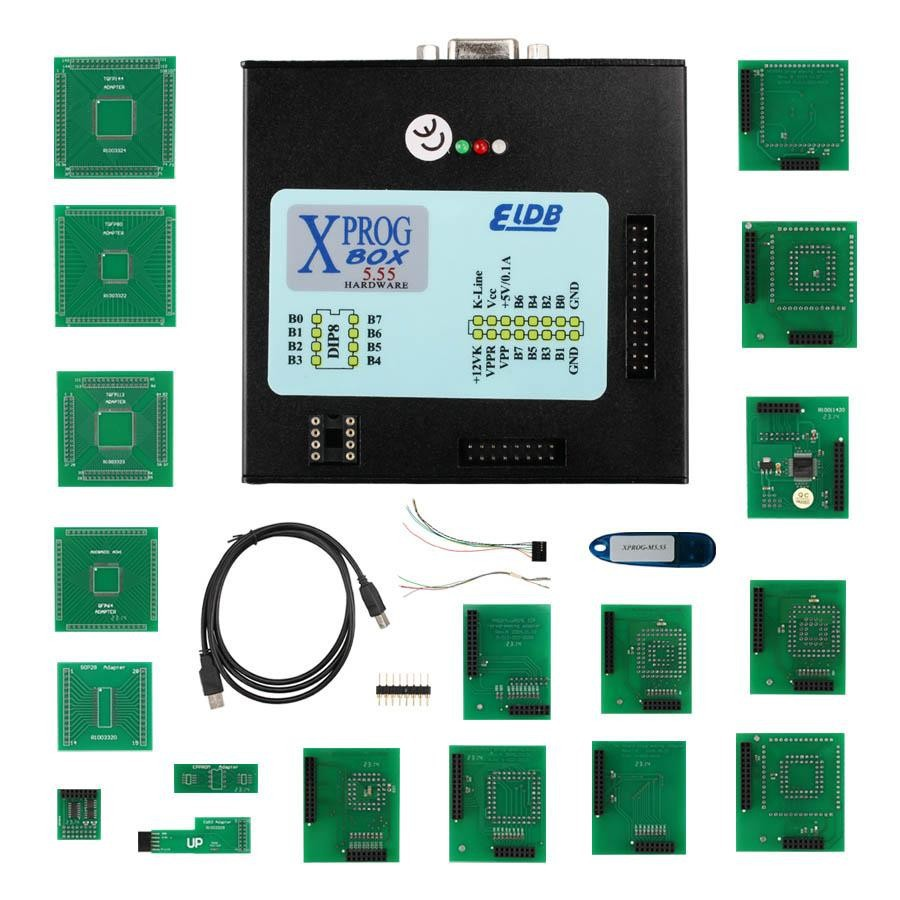 XPROG-M V5.55 XPROG M Programmer with USB Dongle Especially for BMW CAS4 Decryption Easy to Install