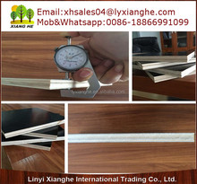 Thin construction plywood with poplar core melamine glue