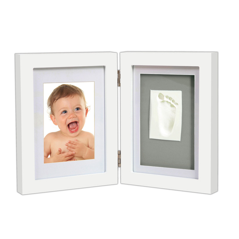 Hot Sale Baby Footprint Photo Frame Girls and Boys Baby Photo Album For Home Decor