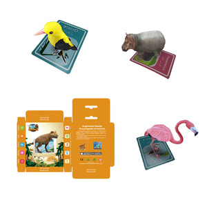 2019 educational Language learning cardboard 4d ar poker card for Primary school gift