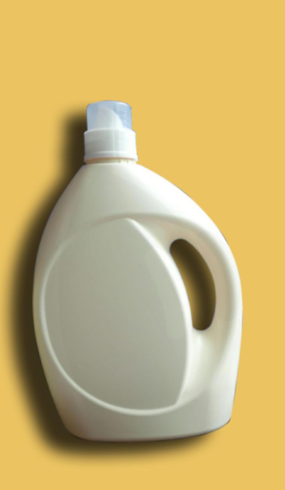 5 Liter New Empty Laundry Detergent Storage Plastic Laundry Detergent  Bottles