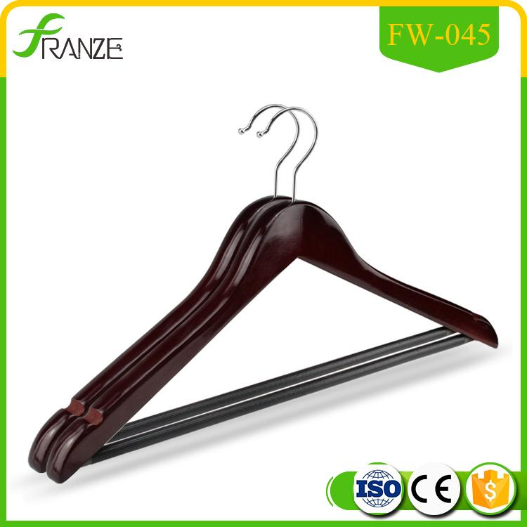 Brand new wooden clothes hanger parts for wholesales