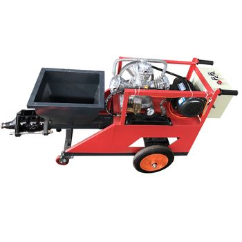 render plaster spraying machine for mortar with cement mixer pump