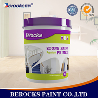 Non-toxic stone effect coating/ 18L Stone texture wall paint