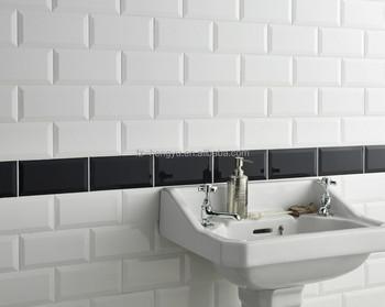 Cm super smalto bianco mattonelle della parete della cucina
