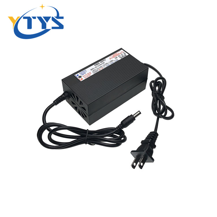AC DC 75.6v 2a li-ion battery charger For 18650 lithium battery 3a 4a 5a charger