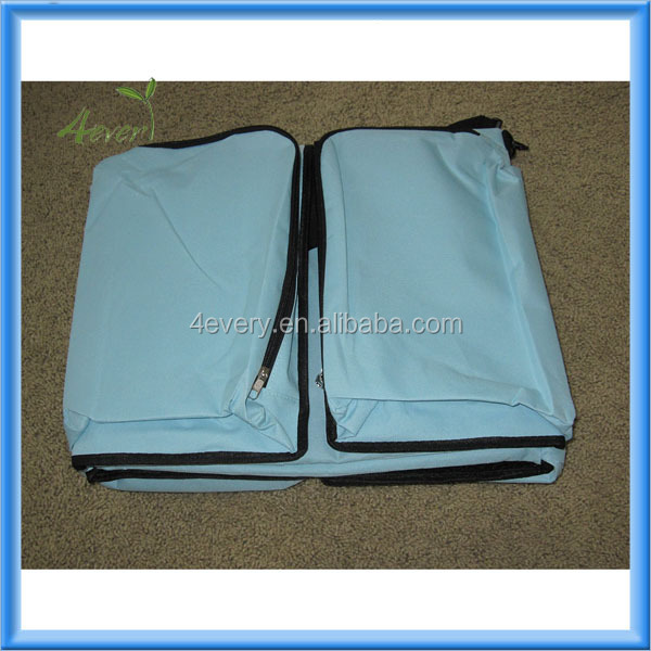 2014 Hot sale multifunction baby travel bag, foldable baby bed bag, baby travel bed