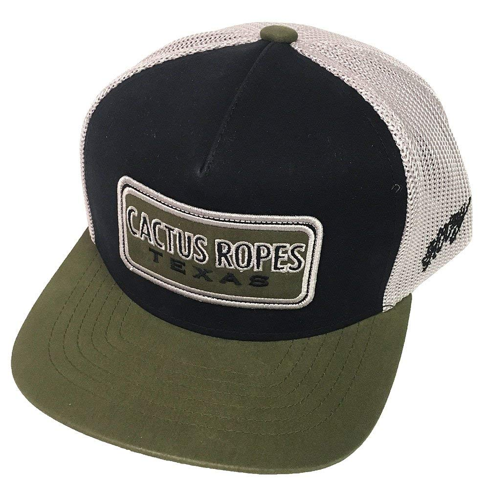 best service 0f9f4 ea723 HOOey Brand, CR26, Cactus Ropes Black Grey Snapback Hat, Youth