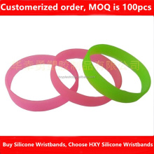 HXY Factory Direct Cheap 2017 New 5MM Width 1MM Thin Silicone Wristband, Cheap Silicone Bracelet Personalisable