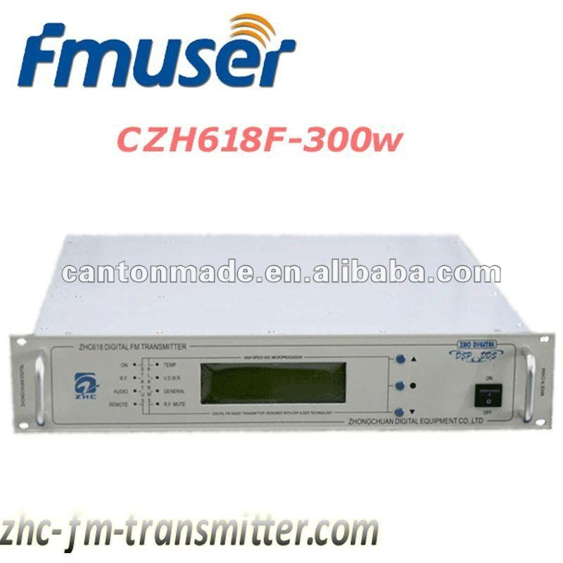 fmuer05 CZH618F 300W FM Broadcast transmitter 87MHz-108MHz radio station equipment for sale