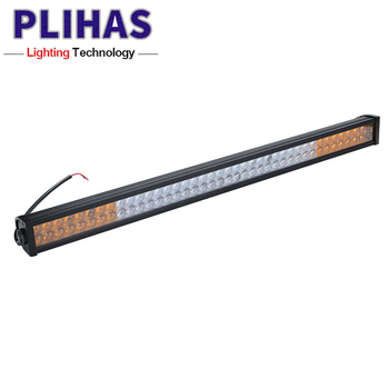 Auto lighting system 144w 57cm led aluminum light bar offroad work lamp bar strobe led lighting for truck cars