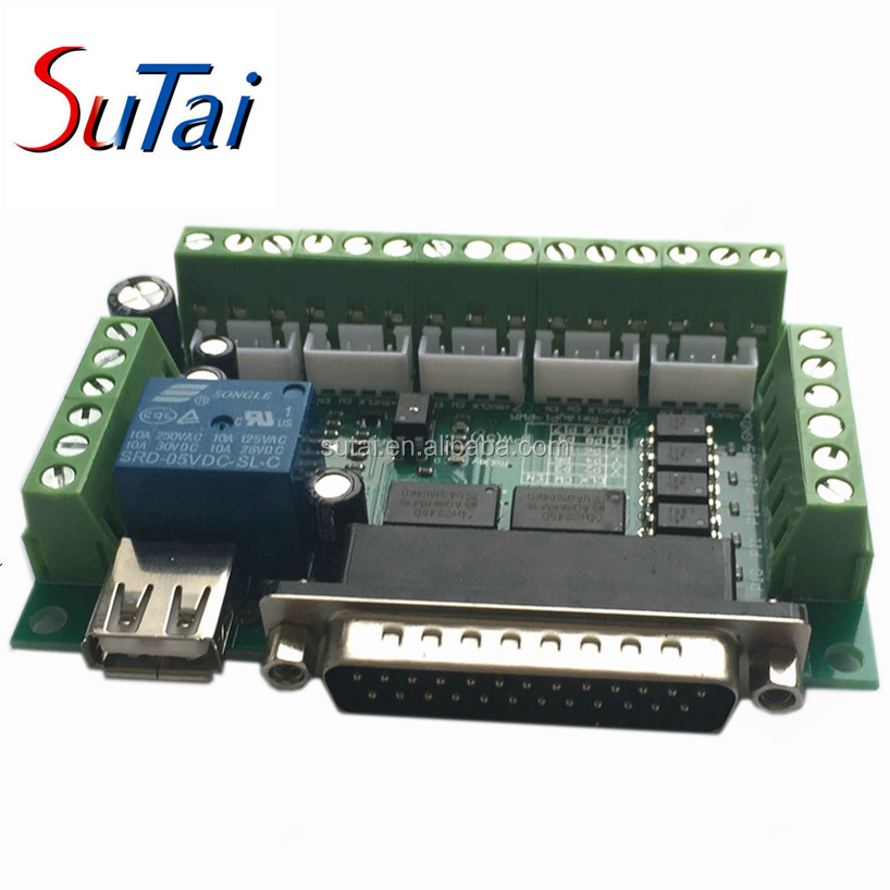 high quality 5 axis cnc mach3 breakout board cnc interface board