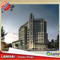Architecture Hotel Commercial Building Design