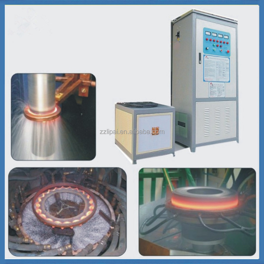High quality induction heating Ring rolling forging machine for forging iron spearhead
