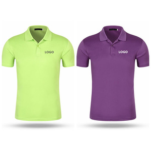Cheap work uniform breathable polo shirts