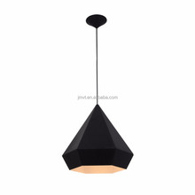 Black traditional diamond iron painting pendant lamp