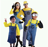 Minions Cosplay Costume Family Carnival Costume Hallowmas TC012