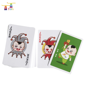 wholesale custom competitive price customized printed design trading deck poker card game paper playing card