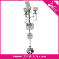 Wholesale for decoration wedding Silver plated candlesticks