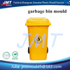 high quality waste paper basket dustcan plastic injection mold tooling maker