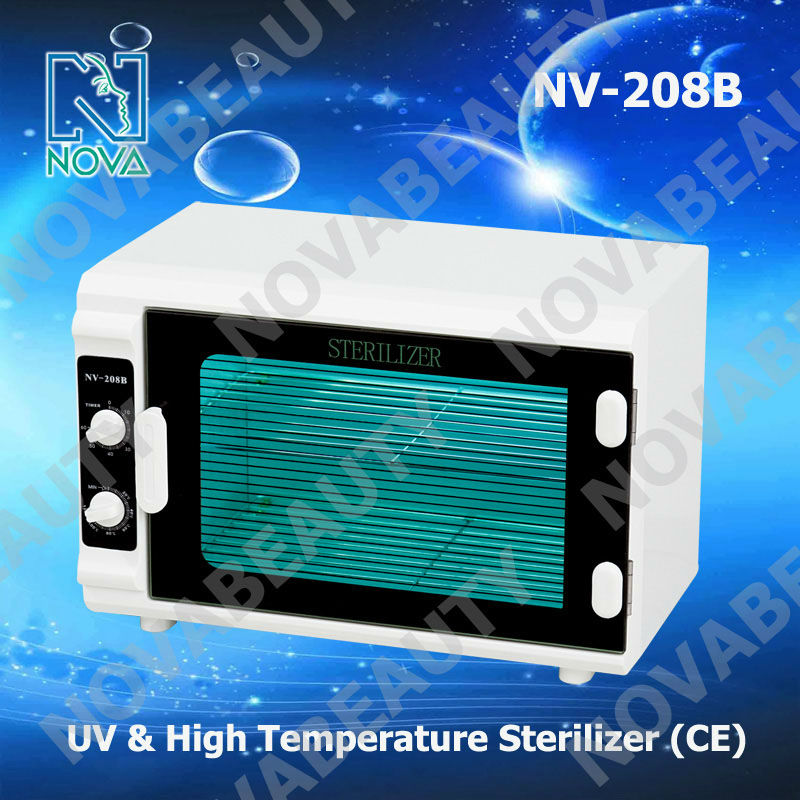 NV-208B 2 in 1 professional uv sterilizer cabinet/uv salon tool sterilizer cabinet with CE/sterilize spa machine towel tools new
