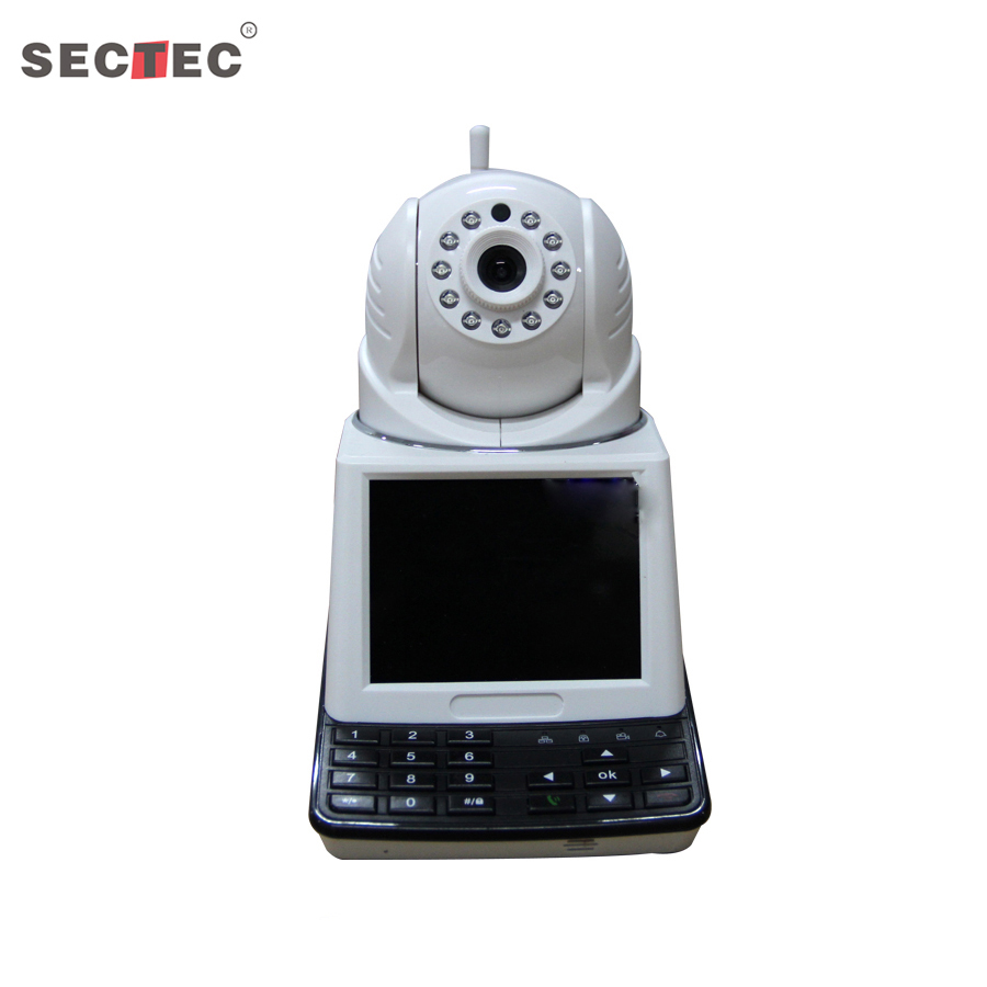 Video Call Recorder Network Wireless IP Camera Support SD card record Home Security CCTV system