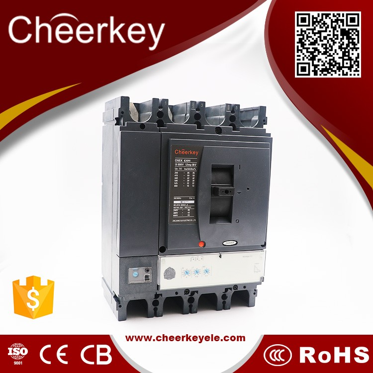 mccb factory EZC 250F 250A 4P circuit breaker 200 amp motor protection thermal circuit breaker mccb with shunt trip coil