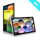 "65""pmp portable multimedia player touch screen advertising player"
