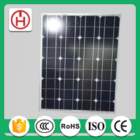 high efficiency 100w mono photovoltaic solar panel