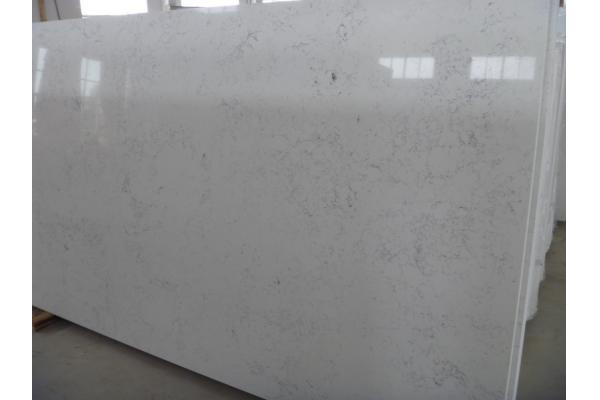Best Price Popular Prefab White Quartz Marble For Kitchen