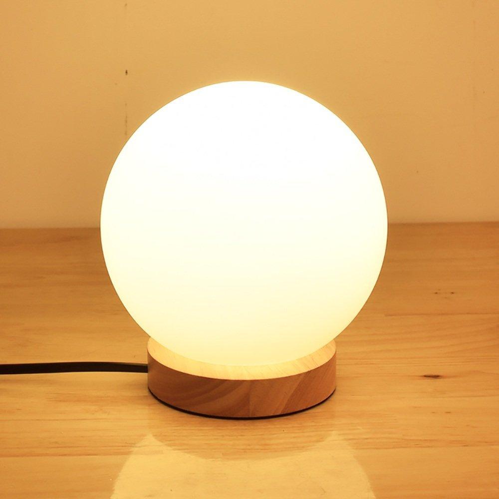 TOYM US Simple creative woody feeding night light desk bedside lamp small desk lamp