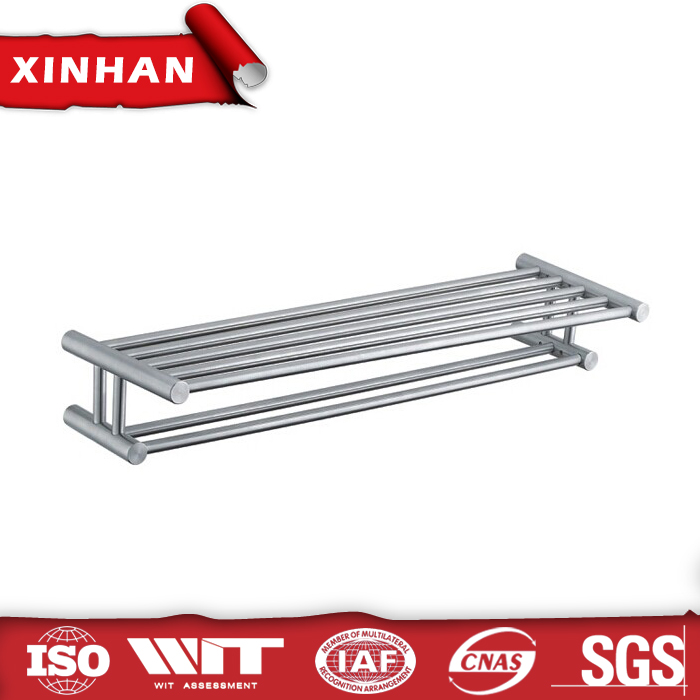 two tiers towel rack stainless steel wholesale cheap sanitary product