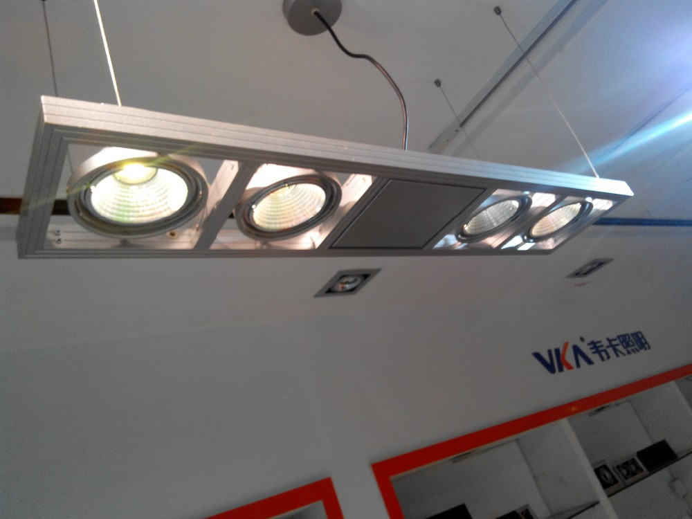 Lampade Ufficio Sospensione : Ufficio lampada moderna illuminazione a sospensione in alluminio