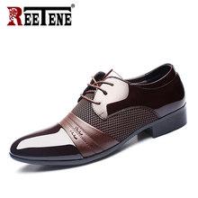натуральная кожа туфли мужские туфли,формальный мужские туфли, мужские брендовые свадебные туфли-оксфорды для мужчин, дышащая мужская офиц...(China)