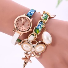 2016 New Design Stone Pendant Accessories Hot Selling Women Fashion Hand Watch