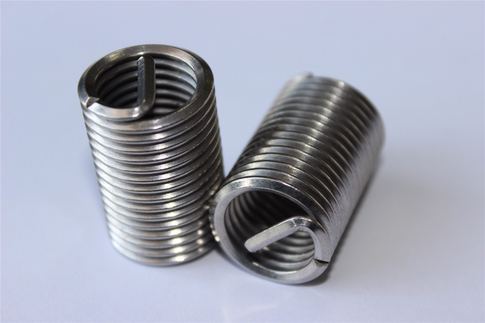 Screw Fasteners M18*2 Steel Threaded Insert For Damaged Screw ...