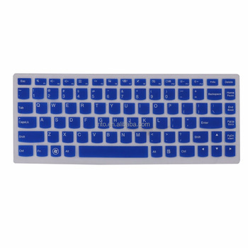 For Lenovo Computer Keyboard Cover, Waterproof Blue Laptop Keyboard Skin for Lenovo Yoga 700